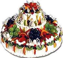 Flowers delivery to Russia - cake 'Grape Tower'
