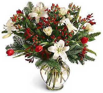 Flowers delivery to Russia - bouquet 'Merry Christmas!'